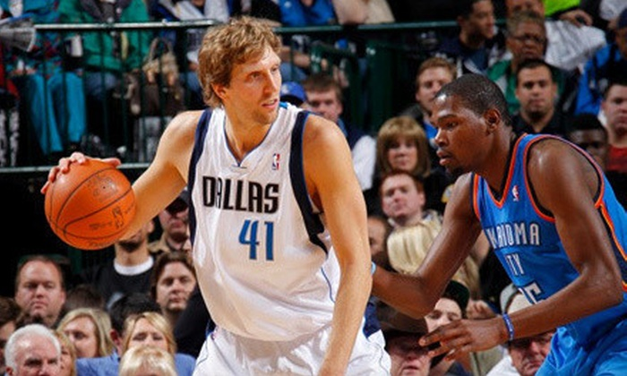 Dallas Mavericks - Victory Park: Dallas Mavericks NBA Game on February 20 or 26 at 7:30 p.m. at American Airlines Center (Up to 44% Off)