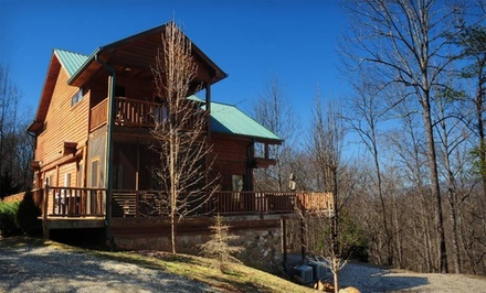 Two-Night Stay in a One- or Two-Bedroom Cabin, Valid SundayThursday - Watershed Cabins in Bryson City