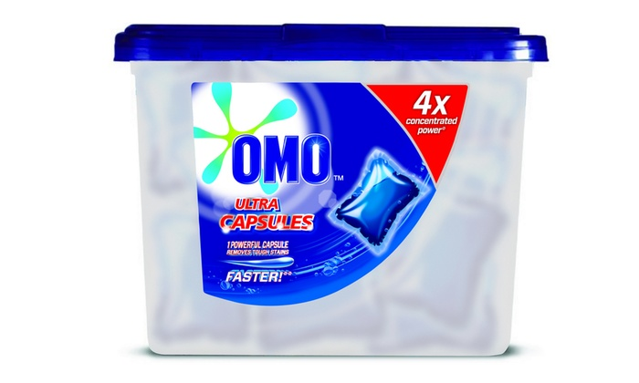 Omo Auto Concentrated Tubs: Two x OMO Auto Concentrated Laundry Capsules (630ml Tub) For R64 Including Delivery (60% Off)