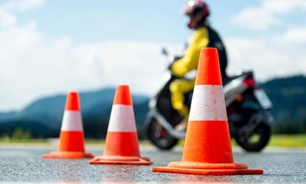 Curso carné de moto A1 o A2 con cinco o siete prácticas desde 49 € en Autoescuela Palomero