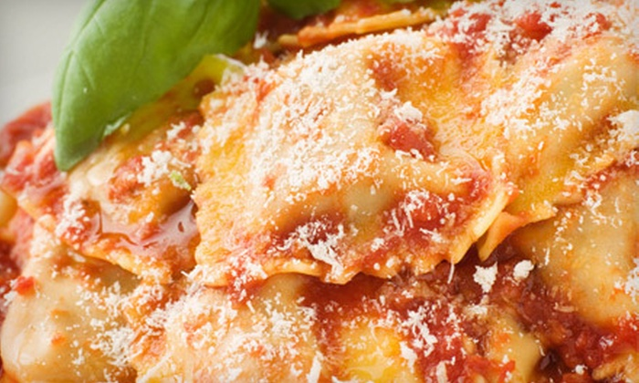 Pugliano's Italian Grill - Plum: Italian and American Cuisine at Pugliano's Italian Grill (Half Off). Two Options Available.