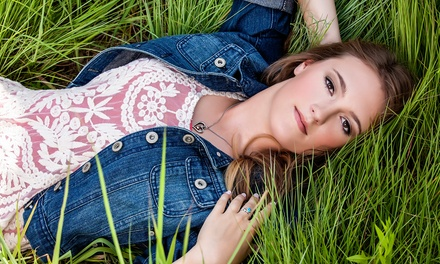 $75 for a 90-Minute Senior-Portrait Photo-Shoot Package from Darci Amundson Photography ($300 Value)