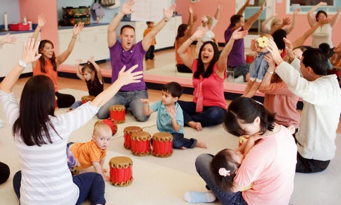 MusicalMe - Multiple Locations: 12 Kids and Parents' Music Classes at MusicalMe (Up to 51% Off). Two Options Available.