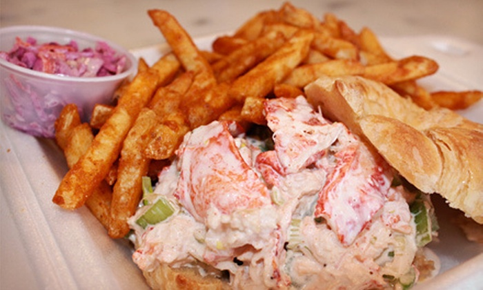 Nader's Fish On The Run - Huntington: Freshly Caught Seafood and American Cuisine at Nader's Fish on the Run (Half Off). Two Options Available.