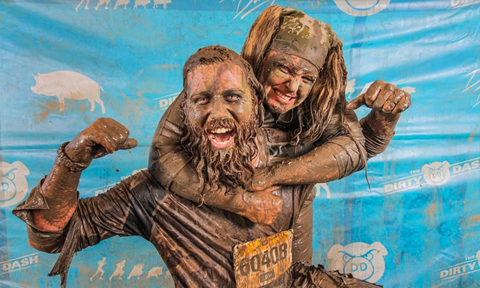 The Dirty Dash - Pikes Peak International Raceway: $35 for Entry to The Dirty Dash at Pikes Peak International Raceway on August 15 ($71.89 Value)