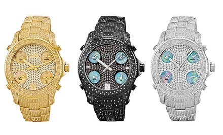 JBW Jet Setter Men's Diamond Watches. Multiple Colors Available. Free Returns.