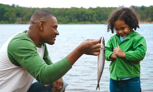 Lake Lane Fishing and Hunting Getaway: Fishing for Six or One-Year Membership for One, Two, or Four at Lake Lane Fishing and Hunting Getaway (Up to 87% Off)