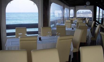 Gran menù di Mare con pesce fresco sul mare a 34,90€euro