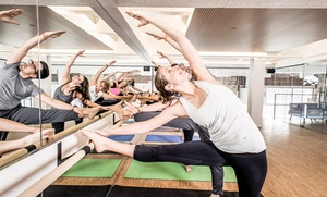 M.Power Yoga: 10 Yoga Classes or One Month of Unlimited Classes at M.Power Yoga (Up to 82% Off)