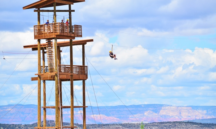 Predator Zip Line - Camp Verde: Zip Line Tours for One or Two at Predator Zip Line (Up to 40% Off).