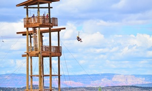 Predator Zip Line: Zip Line Tours for One or Two at Predator Zip Line (Up to 40% Off).