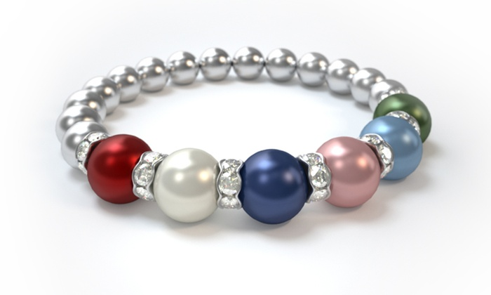 Pearls by Laurel: $25 for a Custom Mother's Bracelet from Pearls by Laurel ($42.85 Value)