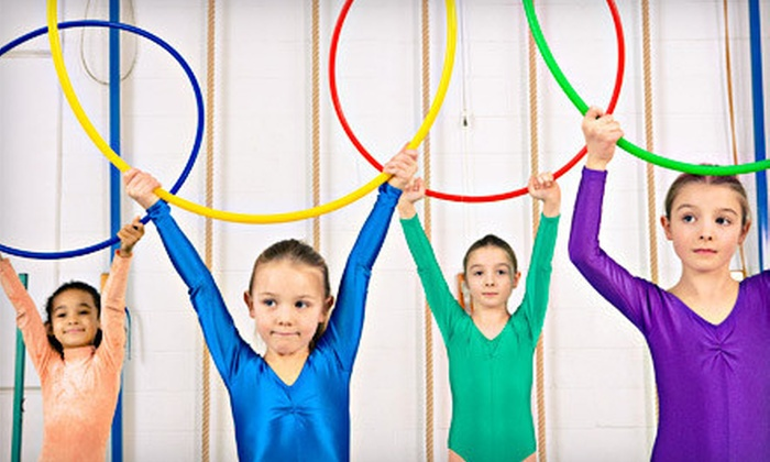 American Twisters - Clarksville: $29 for a Four-Day Kids' Cheer, Dance, Gymnastics, Tumbling, and Trampoline Camp at American Twisters ($100 Value)