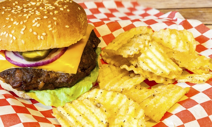 Z-Burger - Multiple Locations: $12 for Two Groupons, Each Good for $10 Worth of Burgers and Shakes at Z-Burger ($20 Value)