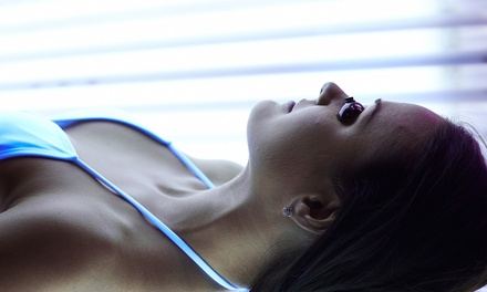 Five Level 1, 2, 3, or 4 Tanning Bed Sessions at Sun Kissed Tanning Company (Up to 51% Off)