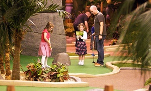 Paradise Island Adventure Golf @ Soar - intu Braehead: Paradise Island Adventure Golf: 18 Holes For Two (£9) or Four (£16) (Up to 41% Off)