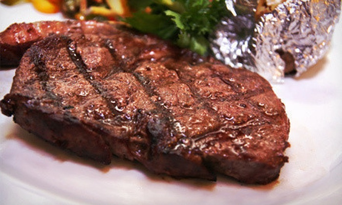 The Fireplace Restaurant - Woodfin: $20 for $40 Worth of Steak-House Cuisine at The Fireplace Restaurant