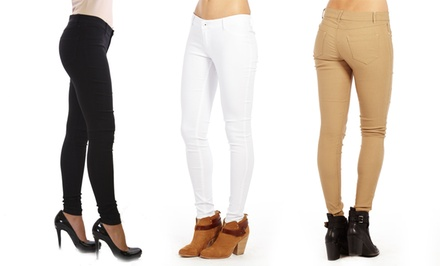 Women's Slim-Fit Pants. Multiple Colors Available. Free Returns.