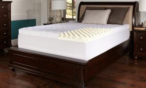 "Lux Comfort Super-Soft 4.5"" Memory Foam Mattress Topper"