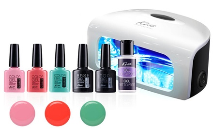 KISS Summer Gel Starter Kit