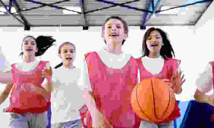 FunDMental Hoops - Faith West Academy: Youth Basketball Camp for One or Two Kids Ages 5–17 on July 28-31 at FunDMental Hoops (Up to 53% Off)