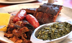 SuzyQue's BBQ & Bar: Up to 50% Off BBQ for Two at SuzyQue's BBQ & Bar