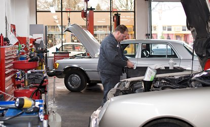 Air-Con Cleanse (£24) or 66-Point Car Service (£44) at Holt Road Garage (Up to 71% Off*)