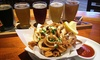 Peter B's Brewpub - Old Monterey Business District: Dinner for Two or Four with Appetizers, Entrees, and Craft-Beer Flights at Peter B's Brewpub (Up to 49% Off)
