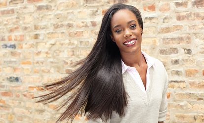 image for One Keratin Treatment with Optional Haircut at Xanadu Salon (Up to 75% Off)