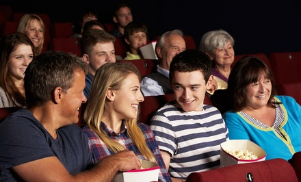 Movie with Popcorn and Soda for Two or Four at Destinta Theatres (55% Off)