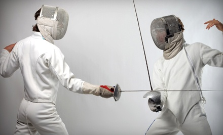 Five-Day Summer Fencing Camp for One or Two Kids at Rising Stars Fencing Academy (Half Off)