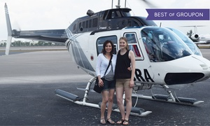 Miami Jet Helicopter Tours: Taste of Miami, Golden Beaches, or Grand Miami Tour for One from Miami Jet Helicopter Tours (Up to 23% Off)