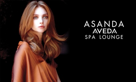 One, Three, or Five Blowouts with Botanical Hair Treatments at Asanda Aveda Spa Lounge (Up to 62% Off)