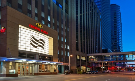 Crowne Plaza in Downtown Minneapolis with Parking and WiFi