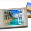 "$59.99 for a 24""x36"" Beach Scene Canvas Print"