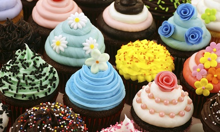 One or Two Dozen Cupcakes from Ladybug Cake Creations (Up to 52% Off)