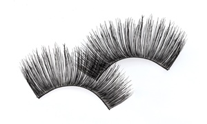 Beauty Works: Two or Four Sets of European Eyelash Extensions at Beauty Works (Up to 68% Off)