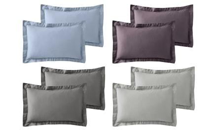 Two 600TC CottonRich Oxford Pillowcase