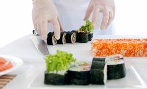 Curso de sushi para uno o dos desde 19,95 € con Paco Amor