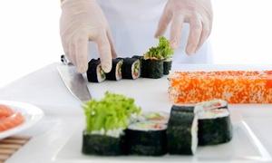 Paco Amor: Curso de sushi para uno o dos desde 19,95 € con Paco Amor