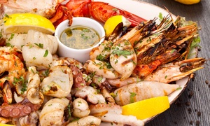 Tsunami Restaurant: Seafood Platter from R195 for Two at Tsunami Restaurant