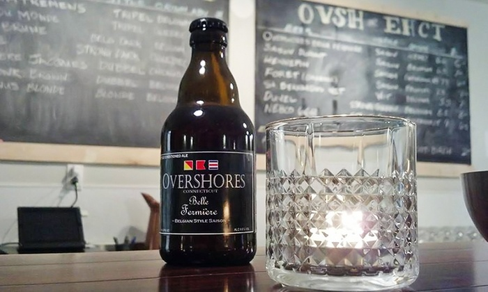 Overshores Brewing Co.  - East Haven: Tour and Tasting Experience for Two or Four at Overshores Brewing Co. (Up to 49% Off)