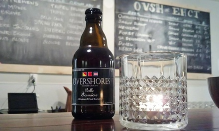 Tour and Tasting Experience for Two or Four at Overshores Brewing Co. (Up to 49% Off)
