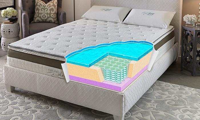 Nature S Sleep  Gel Memory Foam Mattress