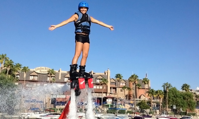 Fly Jet Sports - Multiple Locations: $189 for 60-Minute Water-Powered Jet-Board Flight for Up to Four from Fly Jet Sports ($378 Value)