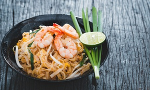Sawadee Thai & Eastern Fusion: €20 for €40 Toward Indian and Thai Meals for Two at Sawadee Thai & Eastern Fusion (50% Off)