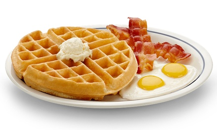 American Fare for Two at IHOP Niagara Falls (Up to 40% Off)