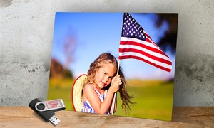 Metal Print with Free 8 GB USB Photo Drive from Imagecom.com at ImageCom.com, plus 9.0% Cash Back from Ebates.