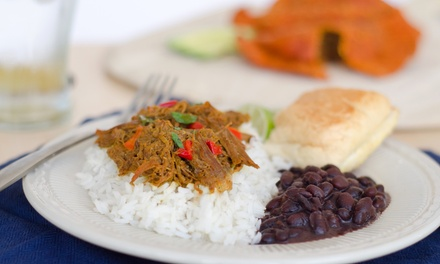 Traditional Cuban Dinner Cuisine for Two or Four at Gusto Cuban Cafe (Up to 46% Off)