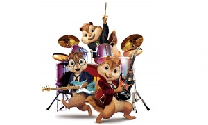 "Alvin and the Chipmunks Live on Stage: ""Alvin and the Chipmunks: Live on Stage!"" at Tower Theatre on Friday, October 9 (Up to 52% Off)"